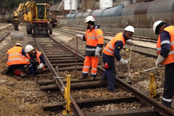 Entretien de voie ferrée